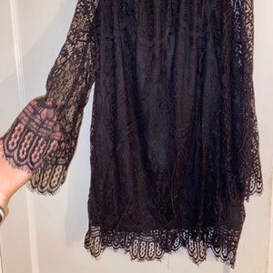 love, Fire Lace Dress